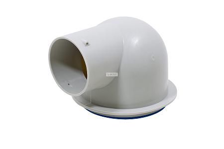 Stropná výustka priama KL-SV-1x90 pre ventil D125