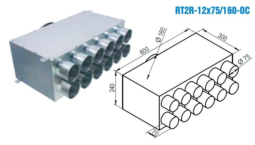 RT2R - 12X75160-OC
