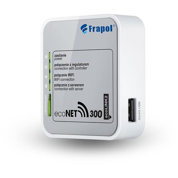 EcoNet - modul diaľkového ovládania